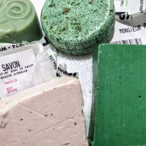 shampoo bars from LUSH