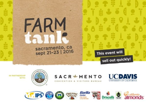 Farm Tank 2016 will feature interactive panels with more than three dozen of the most influential and inspiring leaders in the food system