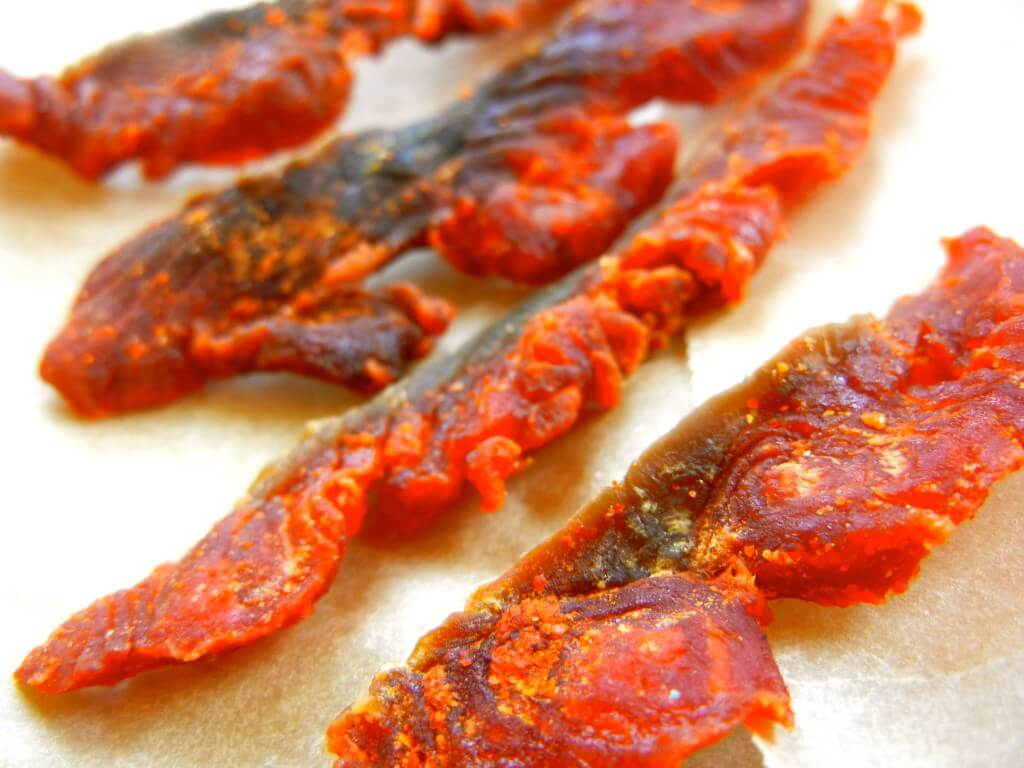 dehydrator recipes: salmon jerky