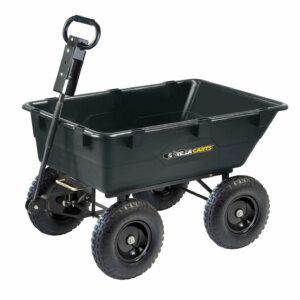 gorilla cart garden dump cart