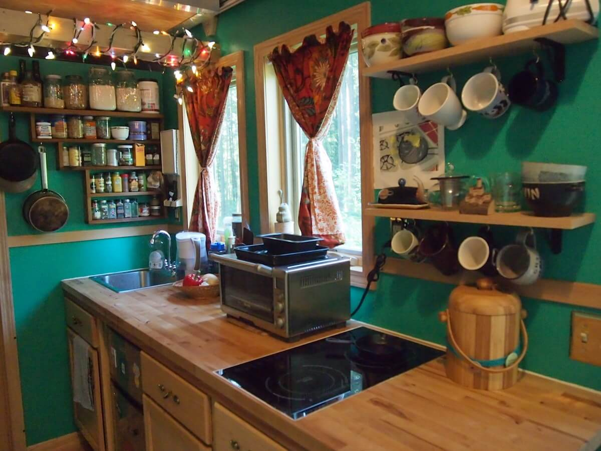 design house kitchens. A Fully Stocked Kitchen In A Tiny House Tiny House Kitchens  Insteading