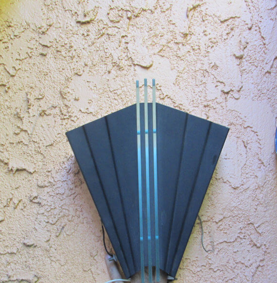 Art Deco Theater Outdoor Sconce