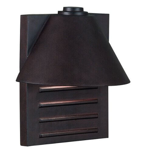 Copper Lantern Outdoor Sconce