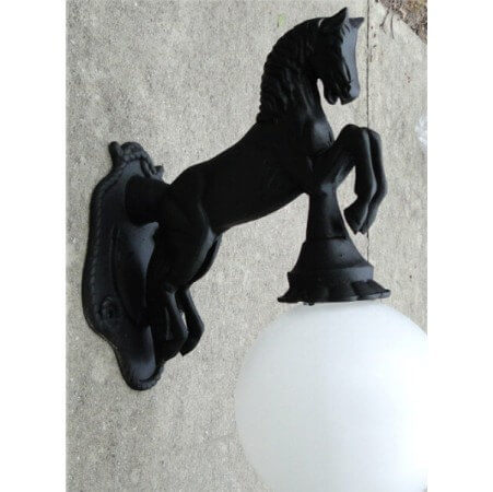 Horse Outdoor Sconce
