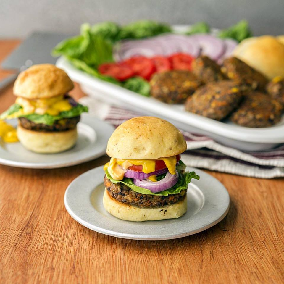jason wrobel_veggie burgers