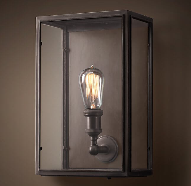 Lightbulbs The Star Outdoor Sconce