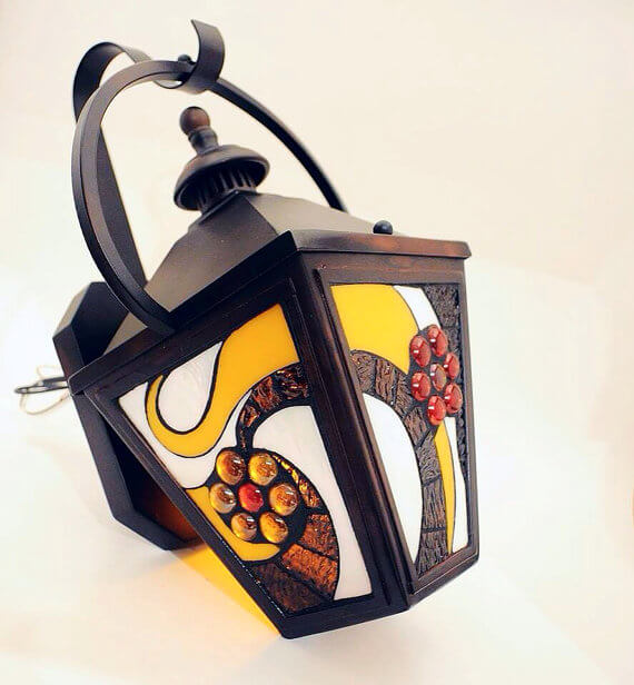 Mosaic Outdoor Sconce
