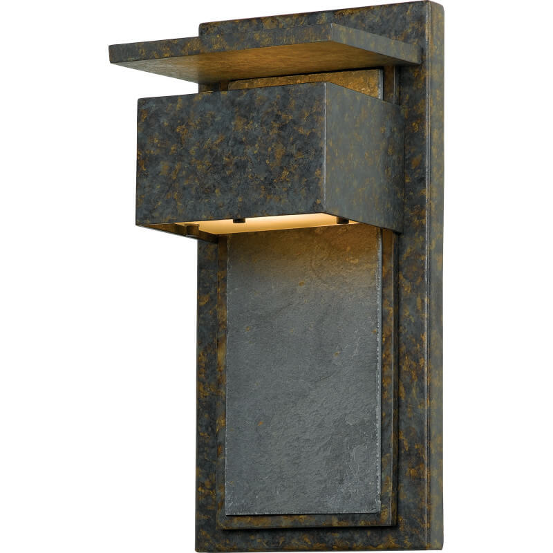 Patinaed Bronze Finish Outdoor Sconce