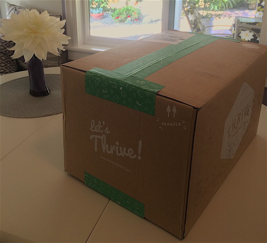 thrive market review box of products