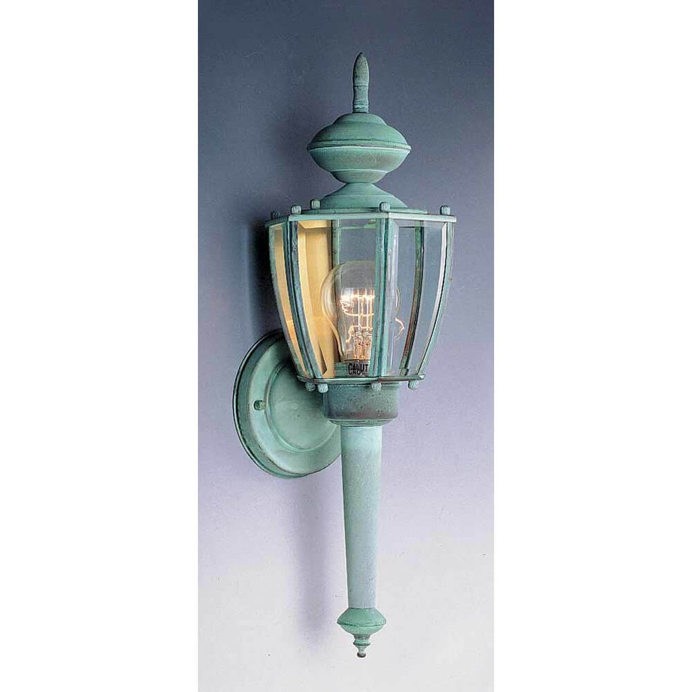 Weathered Copper Outdoor Sconce
