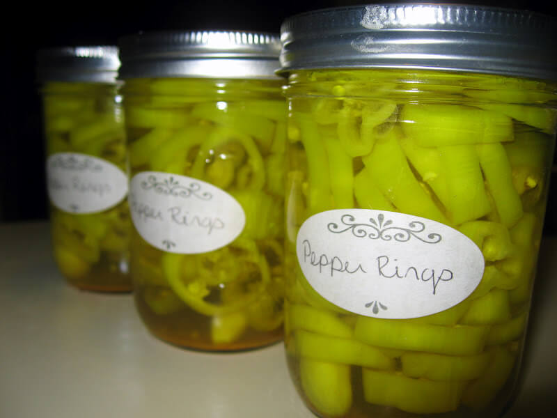 Canning Banana Peppers