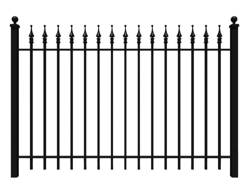 Classic Wrought Iron Fence
