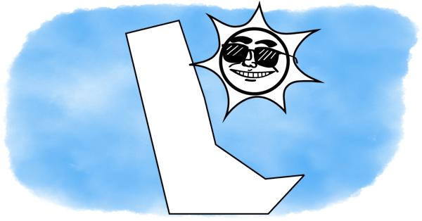 delaware under a smiling sun