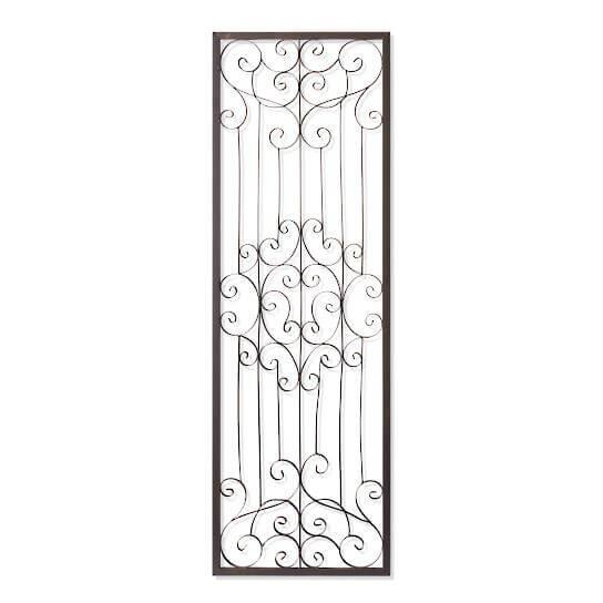 Gisele Rectangular Iron Wall Artwork