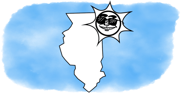 illinois under a smiling sun