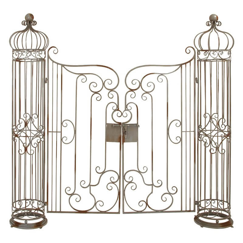 Iron Arbor with Gate