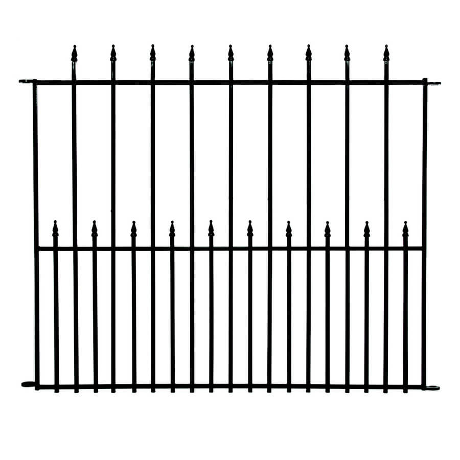 wrought iron fence victorian. No Dig Grand Entrance Decorative Fence Wrought Iron Victorian