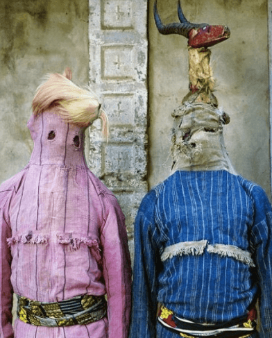 traditional masks photographed by phyllis galembo