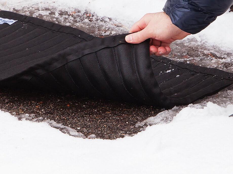 snow ice melting mat