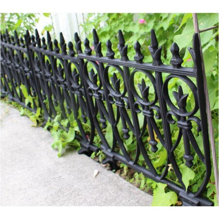 Perfect Victorian Garden Fence