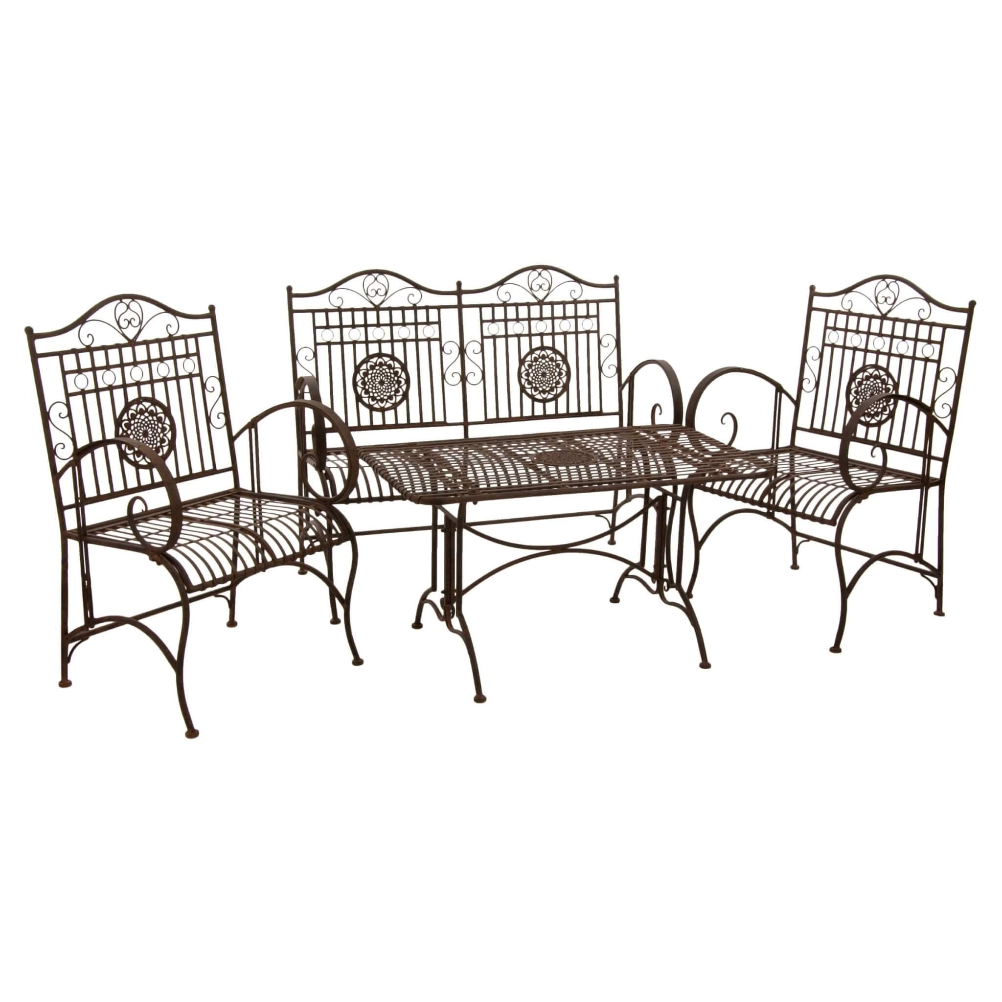 Wrought Iron Conversation Furniture Set