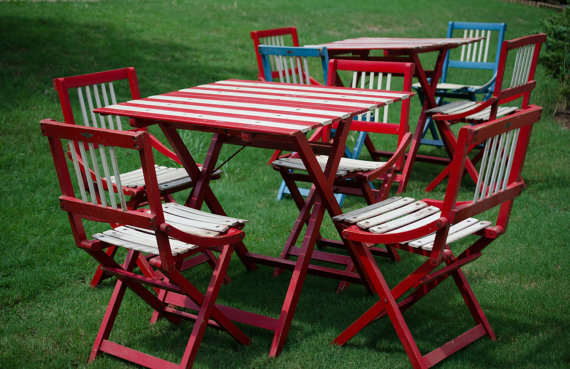 1950's Vintage Patio Set