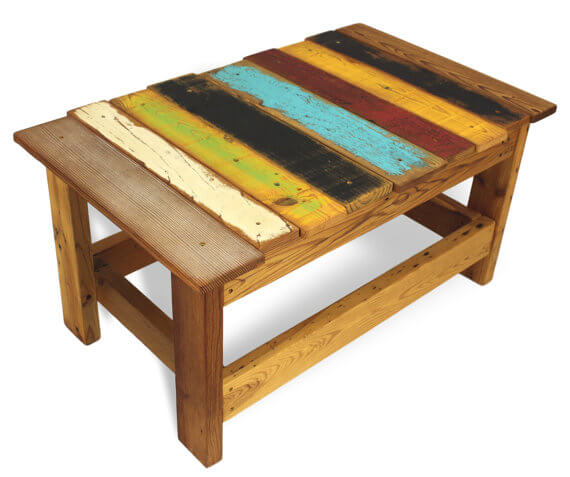 2x4 Colored Table