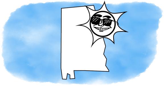 solar power shines on Alabama