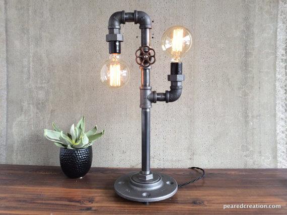 Garden Hose Spigot Lamp
