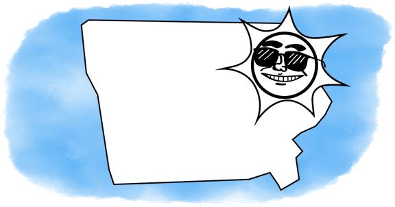 solar power shines on Iowa