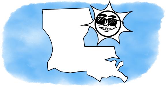 solar power shines on Louisiana