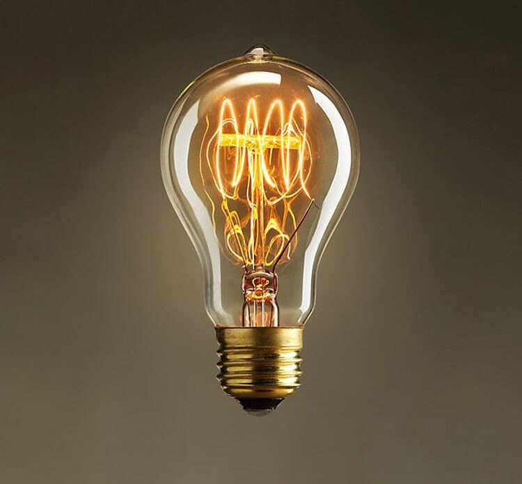 Multi spiral light bulb