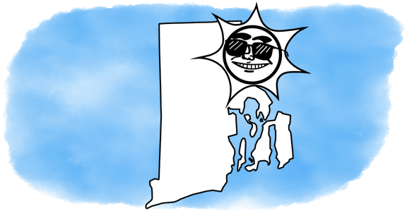solar power shines on Rhode Island