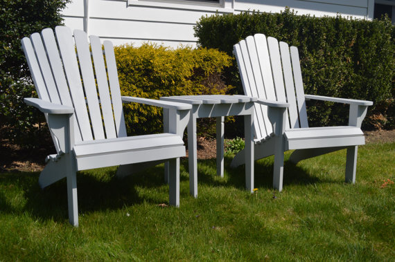 Set of Adirondack Furniture