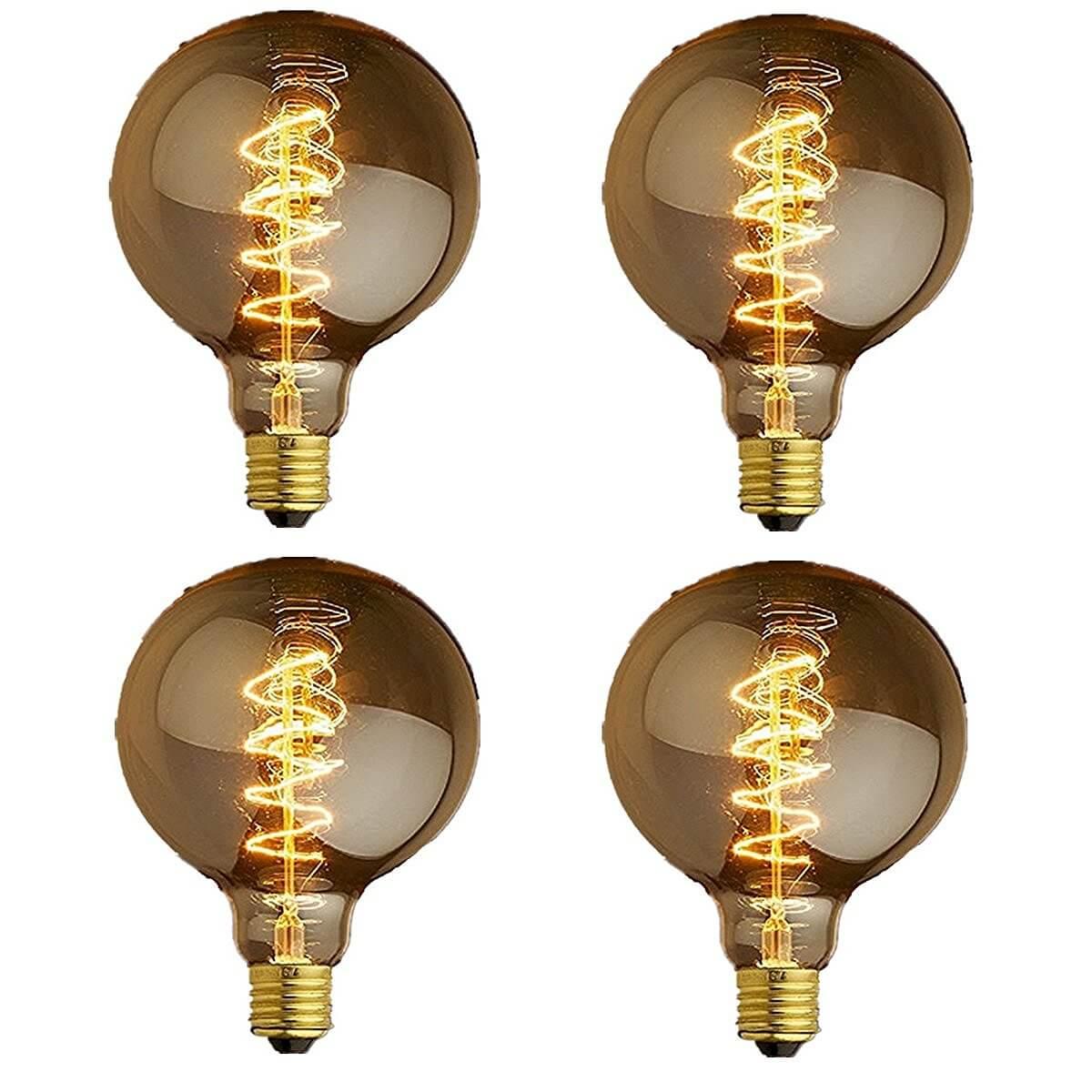 Spiral Globe Light Bulb