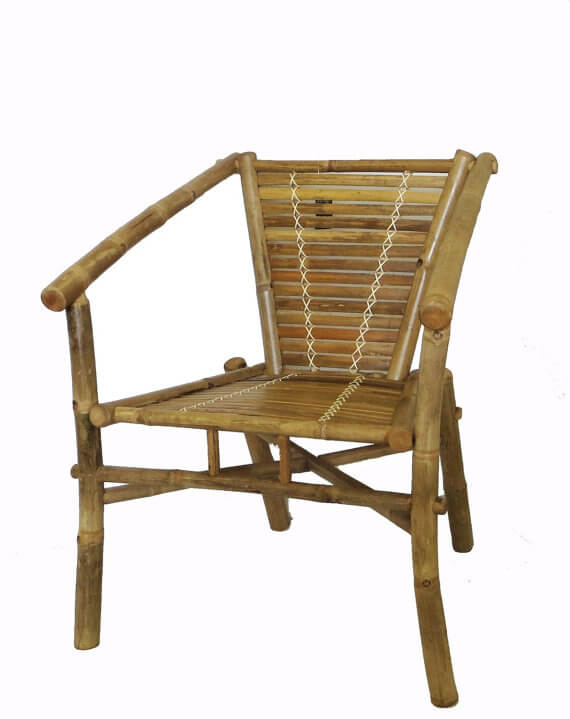 Stackable Bamboo Chairs