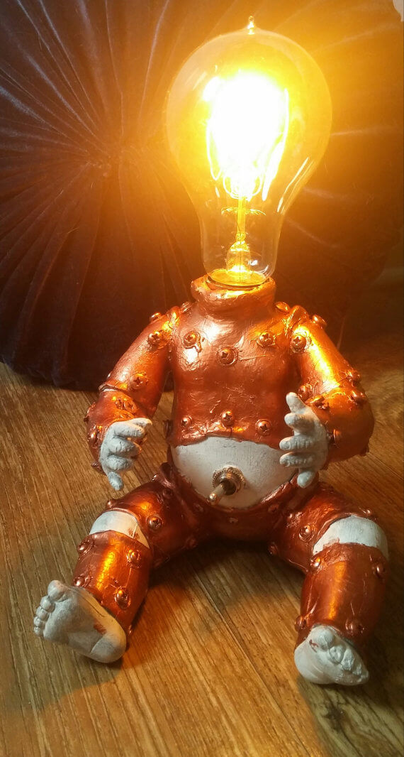 Steampunk Baby Edison Lamp