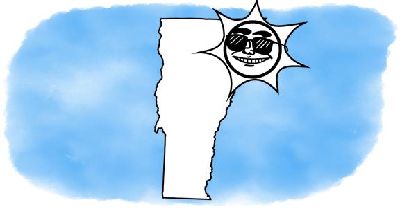 solar power shines on Vermont