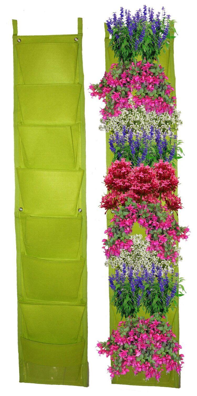 8 Pocket Vertical Garden Planter