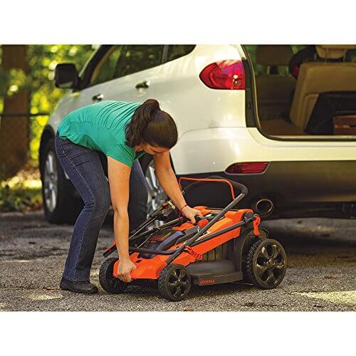 Black Amp Decker Mm2000 13 Amp Corded Mower 20 Quot Insteading