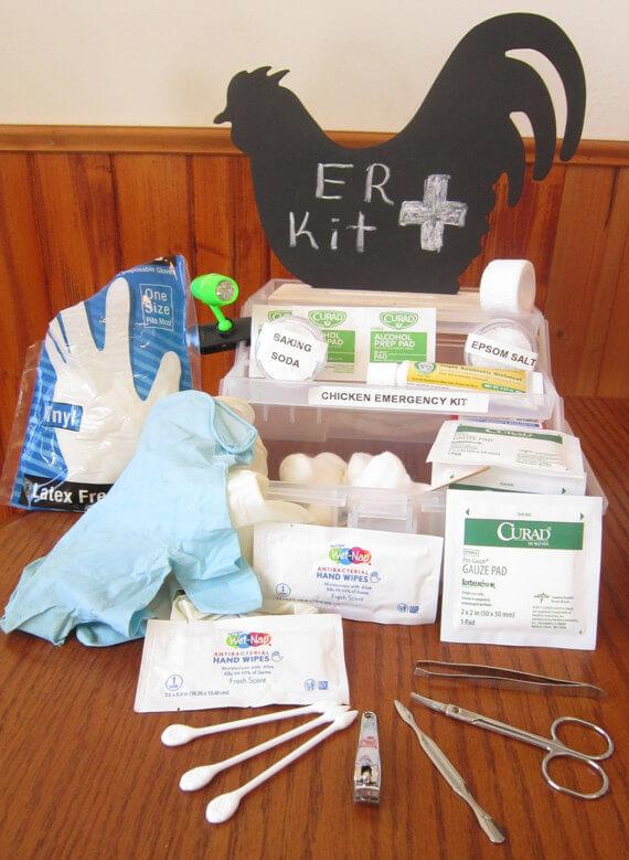 Backyard Chicken Emergency Kit