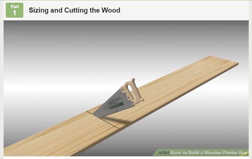 Basic Wooden Planter Box
