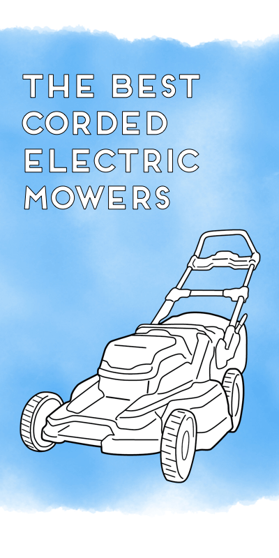 the best corded electric mowers