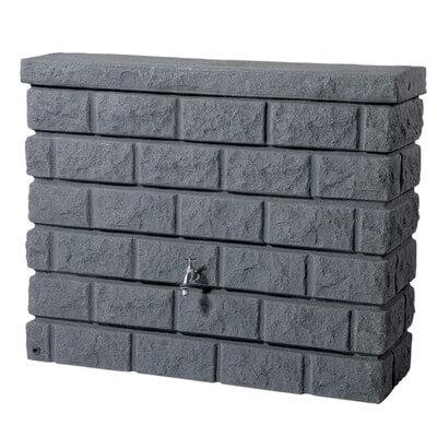 Fake Wall Rain Barrel