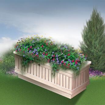 Flower Box Planter Plan