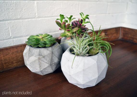 Handmade Concrete Planter