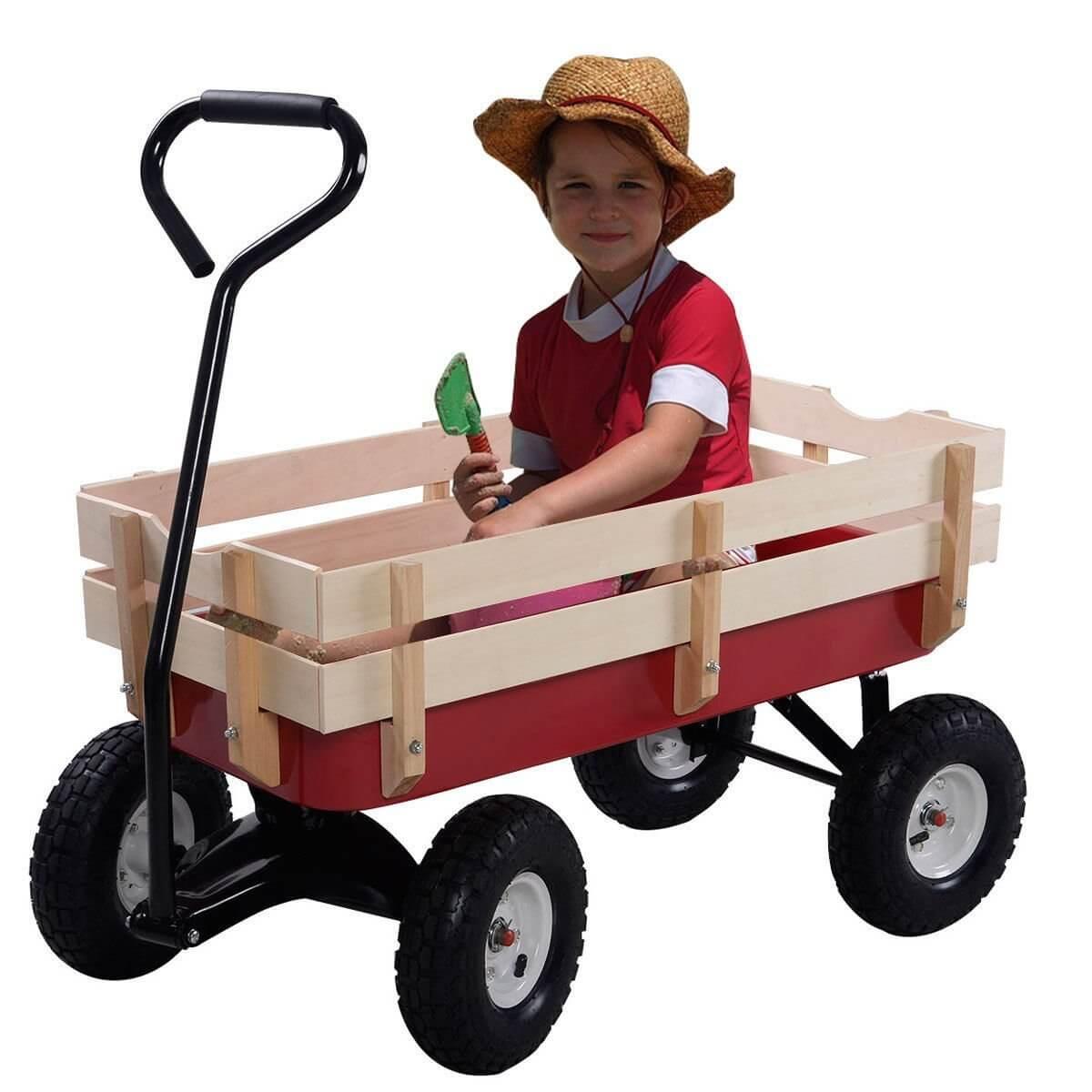 Kids Gardening Wagon