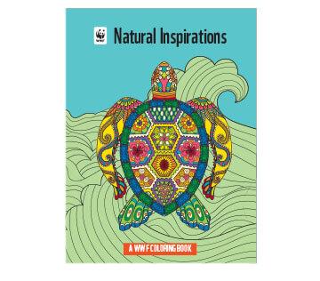 Natural Insipirations Coloring Book