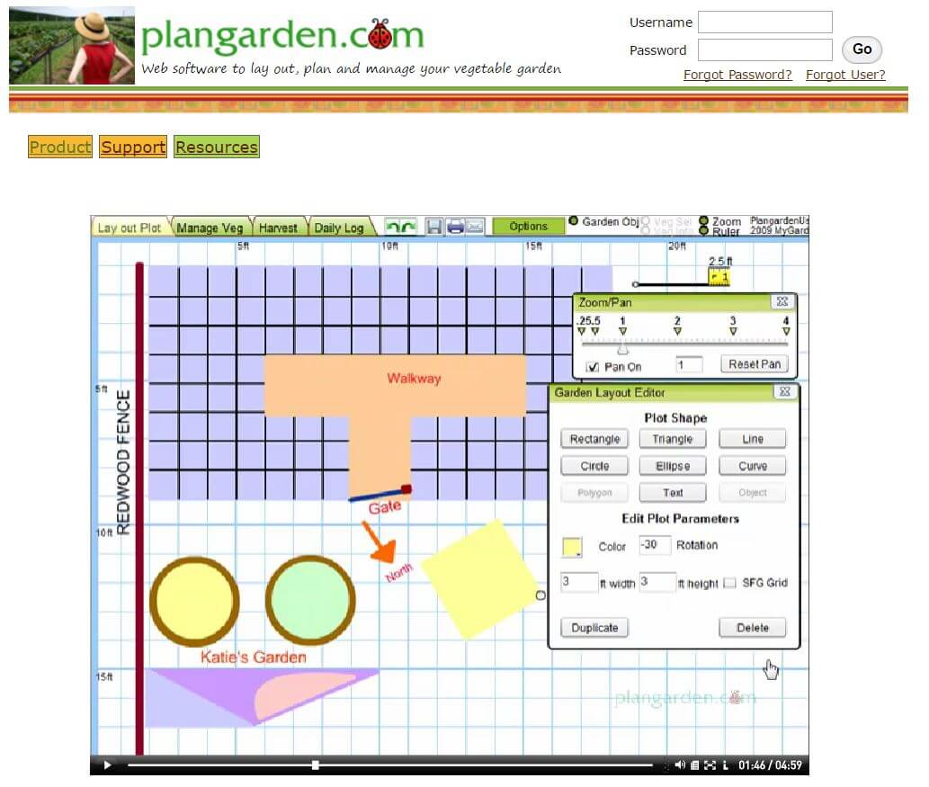 The Software Is Described As A Program Specifically For Vegetable  Gardeners, But Can Also Accommodate Strangely Shaped Gardens And Raised  Beds.