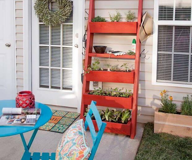 Planter Box Ladder